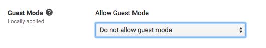 Disallow guest mode screenshot