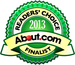 About.com Reader's Choice Awards Logo