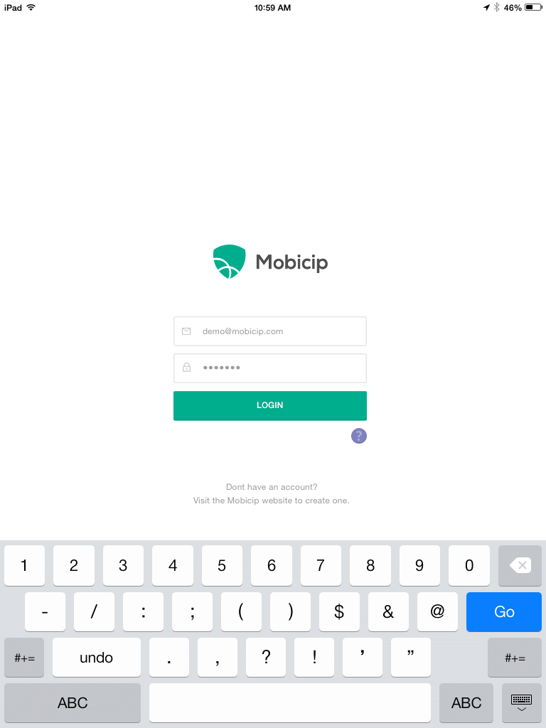 Launch Mobicip  and login