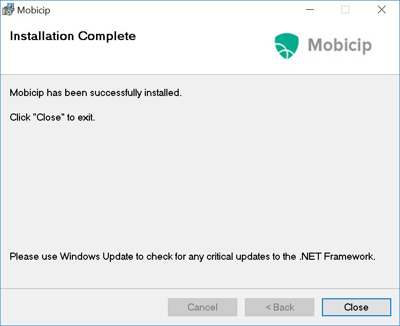 Mobicip installed
