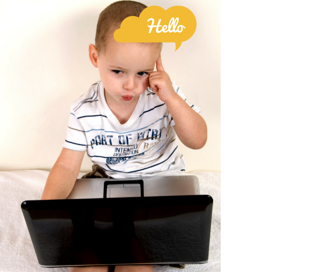 Child's vocabulary enhanced by technology