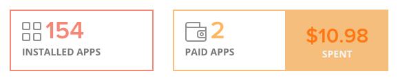 App Monitor summary screenshot