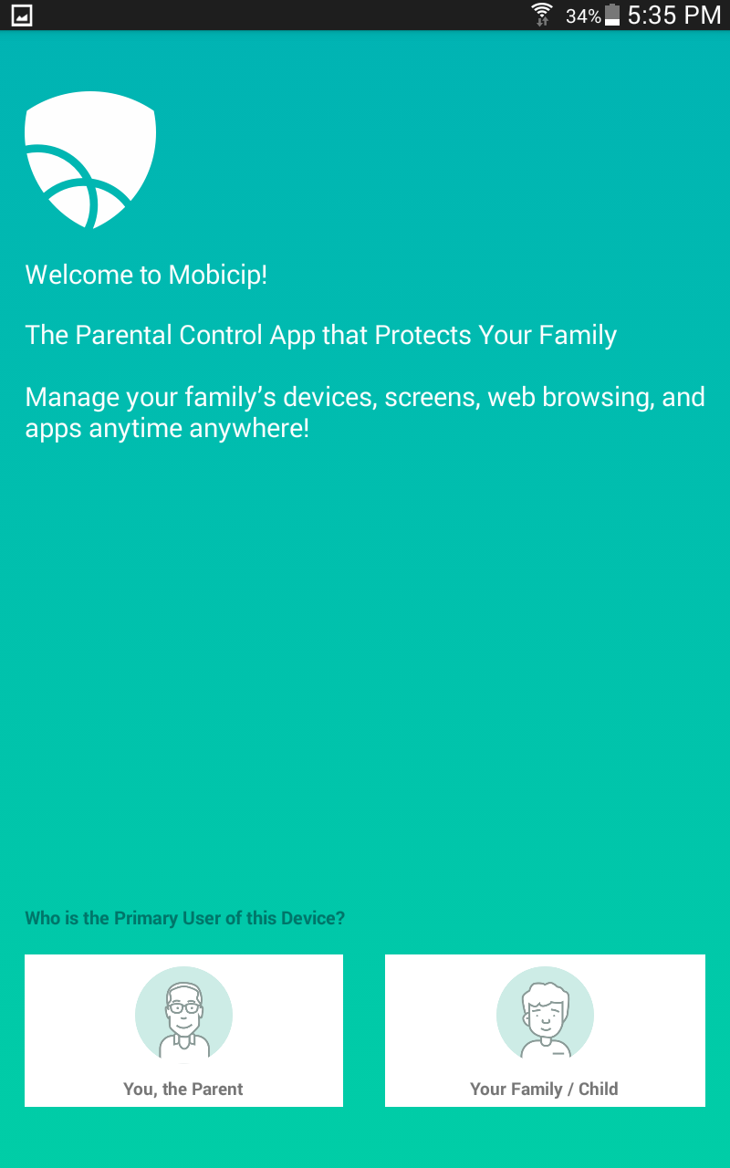 Welcome to Mobicip - the parental control app that protects your family
